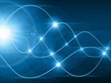 پوستر زیبای امواج رادیویی