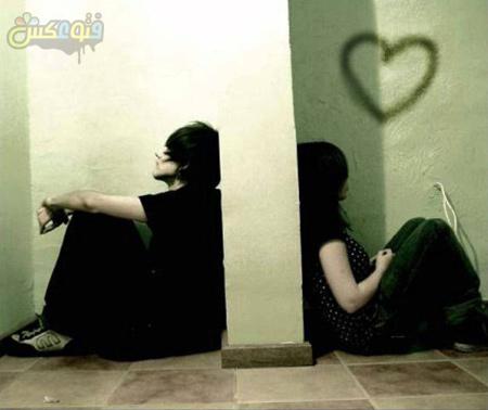 عکس جدایی دختر و پسر girl boy broken love