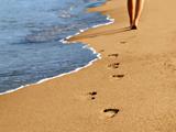 قدم زدن در کنار ساحل
