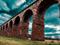 معماری پل آجری با کمان