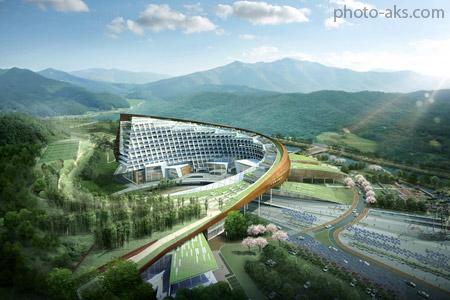 معماری سبز نیروگاه هسته ای korea hydro nuclear power
