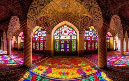 معماری داخلی مسجد زیبا mosque interior design wallpaper