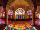 معماری داخلی مسجد زیبا
