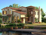 معماری زیبای خانه ویلایی