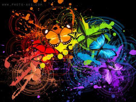 عکس هنری رنگ ها art colors