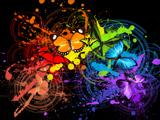 عکس هنری رنگ ها