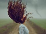 عکس هنری موهای دخترانه