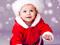عکس بچه با لباس بابانوئل