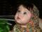 دختر بچه چشم عسلی ناز