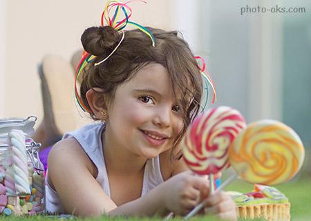 عکس دختر بچه ناز خوشگل بامزه cute child girl