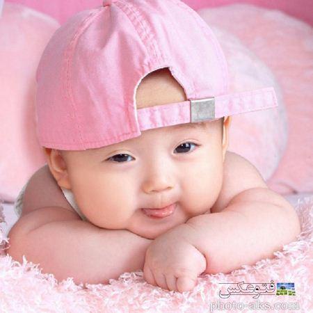 پسر بچه ژاپنی صورتی pink japonese baby
