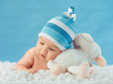 عکس نوزاد و عروسک ببعی