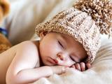 عکس خواب شیرین پسربچه