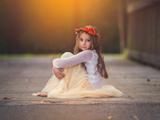 عکس دختر کوچلو فرشته