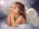 عکس دختر بچه فرشته