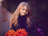 دختر خوشگل مو بلند