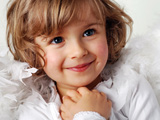 تصویر خنده دختر بچه خوشگل