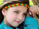 دختر بچه ناز چشم سبز