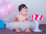 عکس کیک تولد نوزاد شکمو