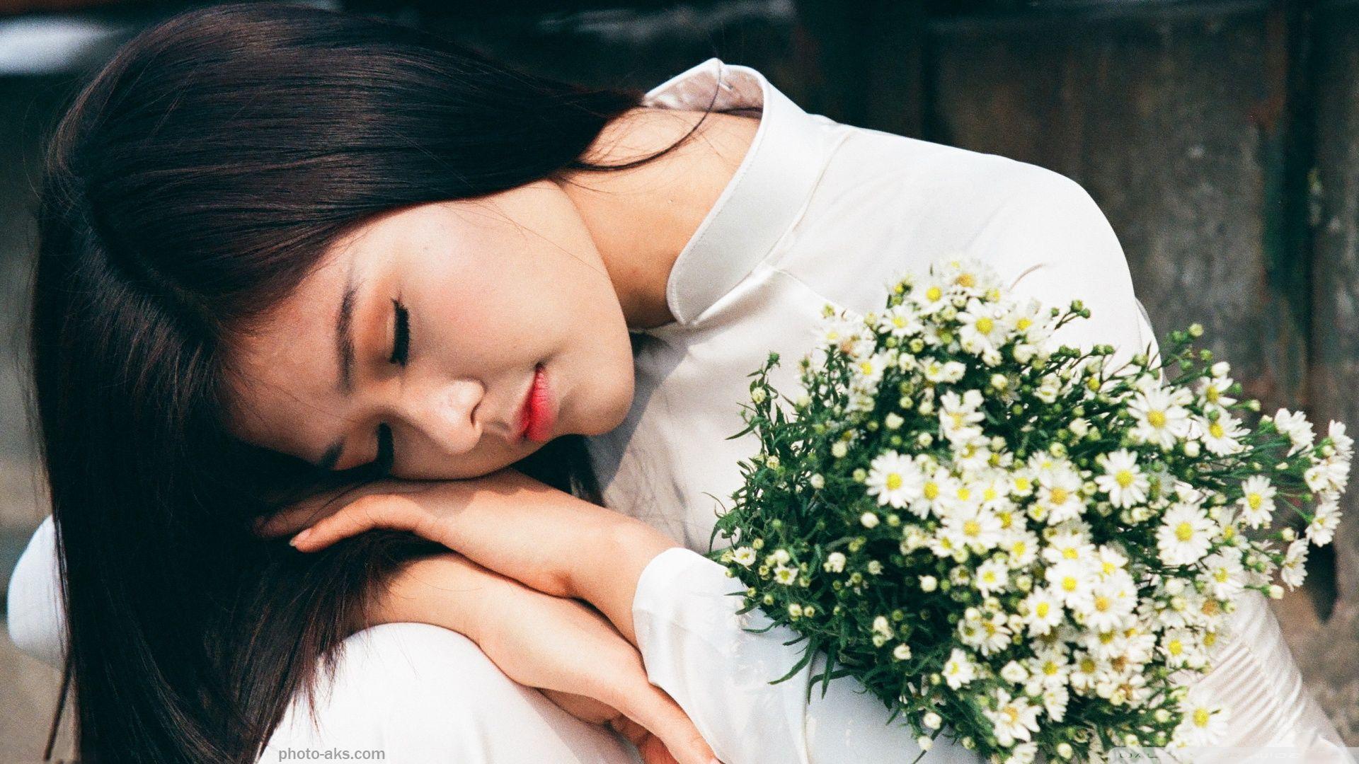 عکس لباس خواب دختر