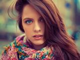 زیباترین دختران چشم رنگی