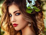 عکس چهره دختر بسیار زیبا