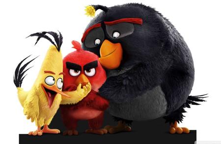 عکس فیلم کارتونی پرندگان خشمگین angry birds movie