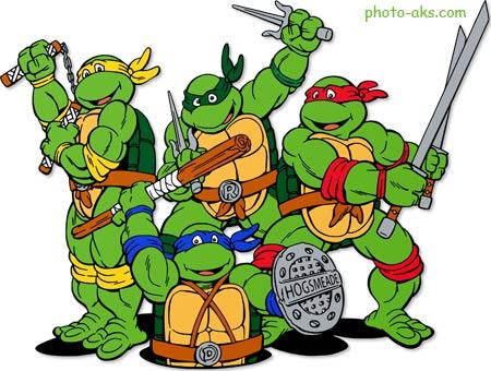 کارتون لاک پشت های نینجا ninja turtles cartoon