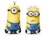 عکس کارتونی مینیون های زرد
