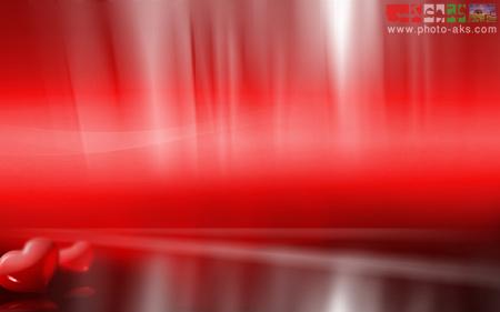 پوستر عاشقانه ویندوز ویستا vista red love wallpaper