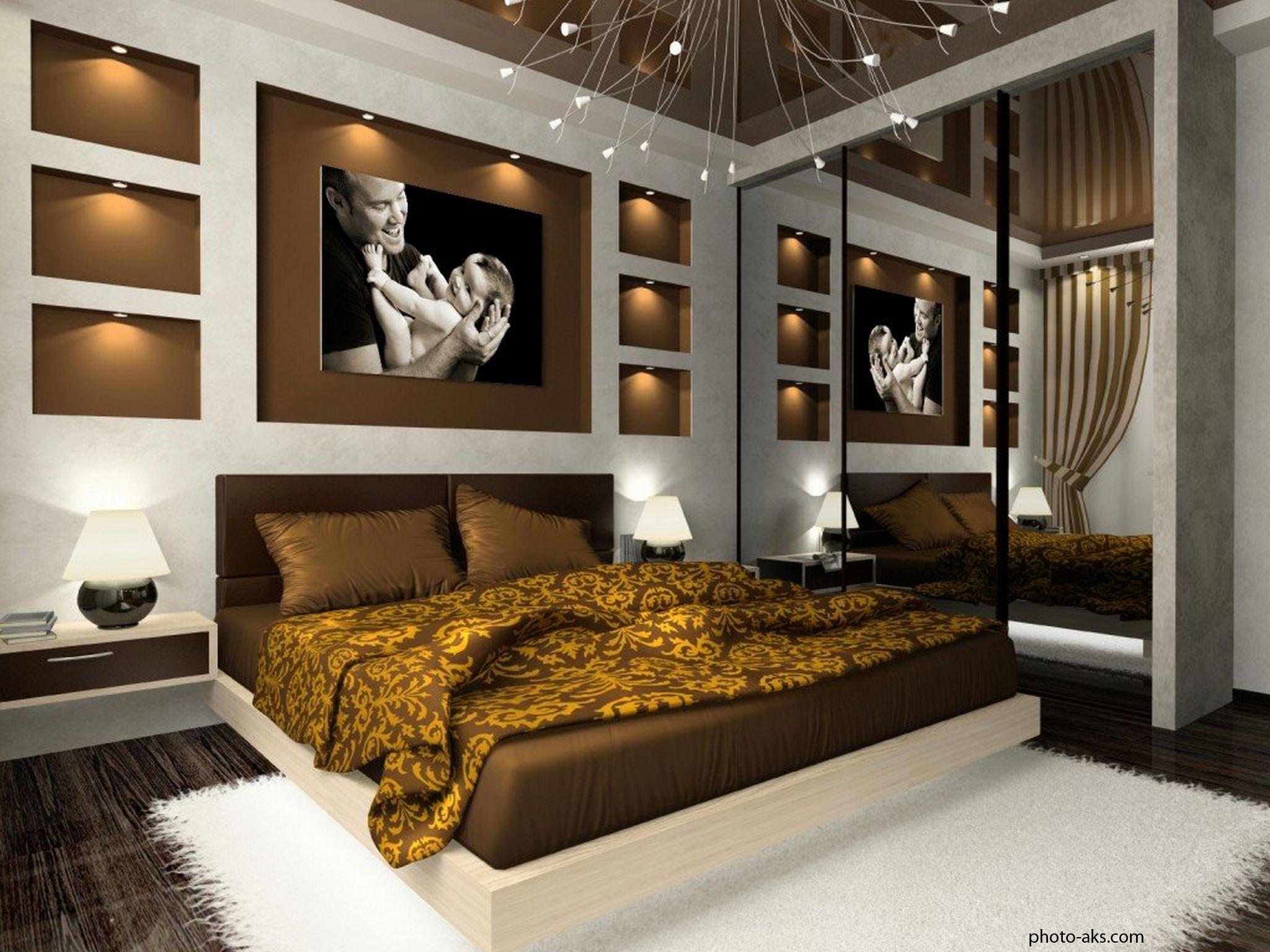 Новое в дизайне спальни