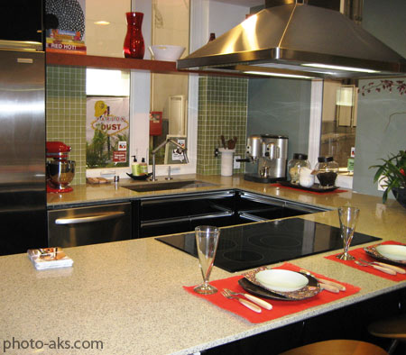 عکس دکوراسیون آشپزخانه کوچک small kitchen decoration