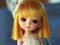عروسک ناز غمگین مو طلایی