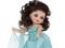 عروسک با لباس آبی