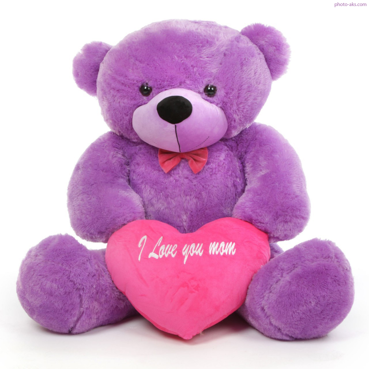 Purple teddy bear - Tedy shop ...