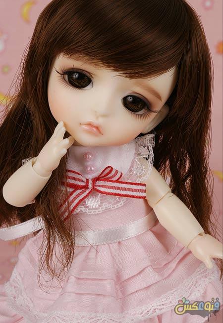 عروسک کره ای خوشگل کوچولو light pink dress korean doll