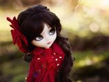 پس زمینه عروسک دختر خوشگل