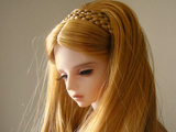 عروسک مو طلائی بسیار زیبا