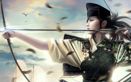 عکس فانتزی دختر ژاپنی Japanese girl fantasy