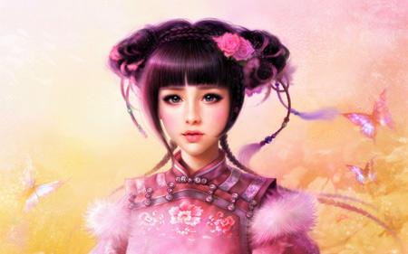 عکس انیمه دختر خوشگل ژاپنی dokhtar fantezi ziba