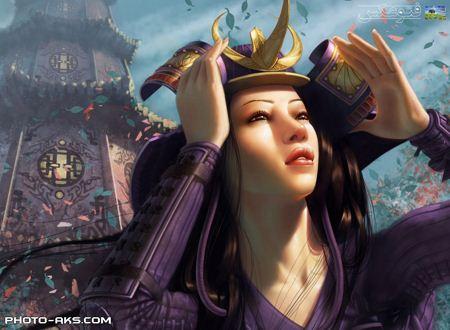 عکس دختر فانتزی جدید dokhtar fantezi japoni