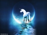 عکس فانتزی اسب شاخ دار رویایی