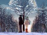 عکس فانتزی دختر و پسر در زمستان