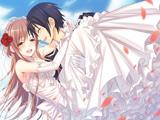 عکس عروس داماد کارتونی