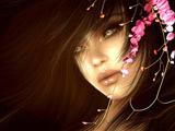 عکس فانتزی دختر با موهای زیبا