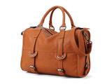 کیف چرم قهو ه ای زنانه رسمی