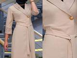 مدل مانتو کرمی شیک ایرانی
