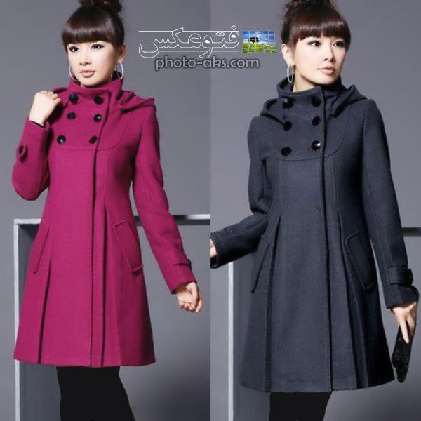 Women's Long Winter Dress Coats