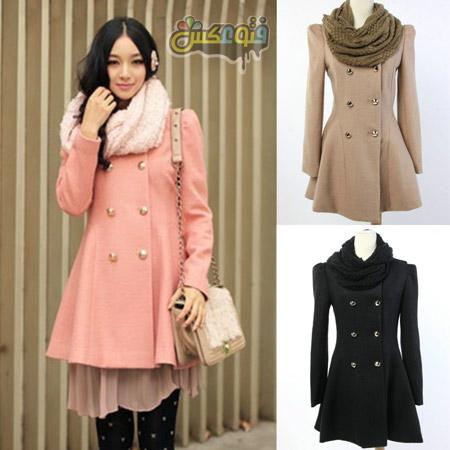 پالتو کوتاه دانشجویی کره ای trench coat for women
