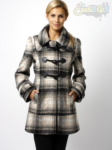 مدل پالتو چهارخانه جدید checkered overcoat